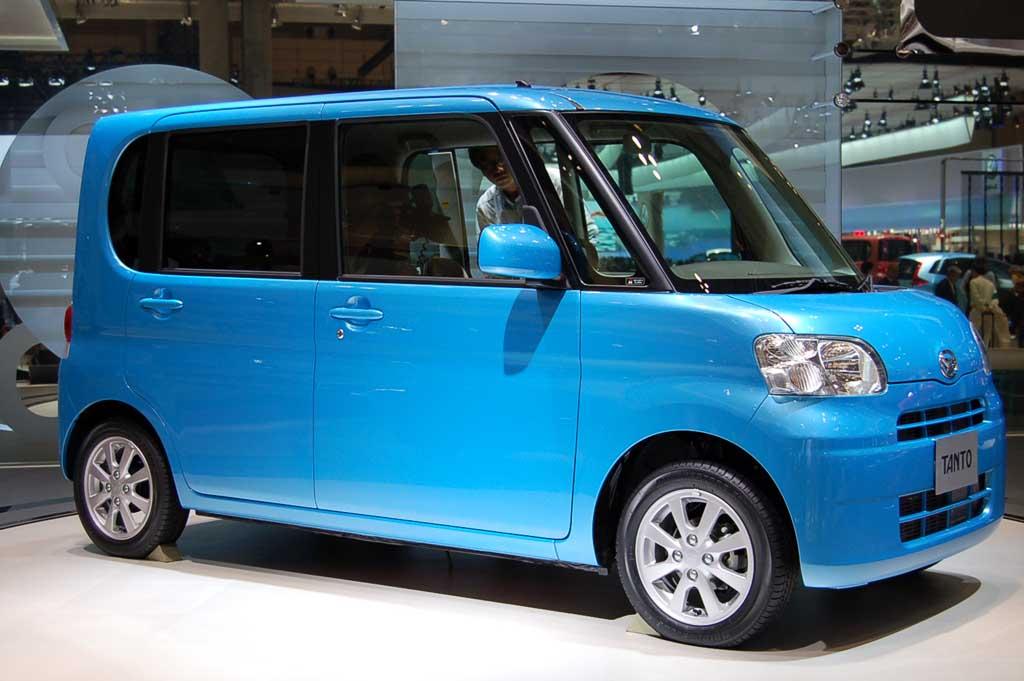 Image: 2007 Daihatsu Tanto, 2007 Tokyo Motor Show, Size