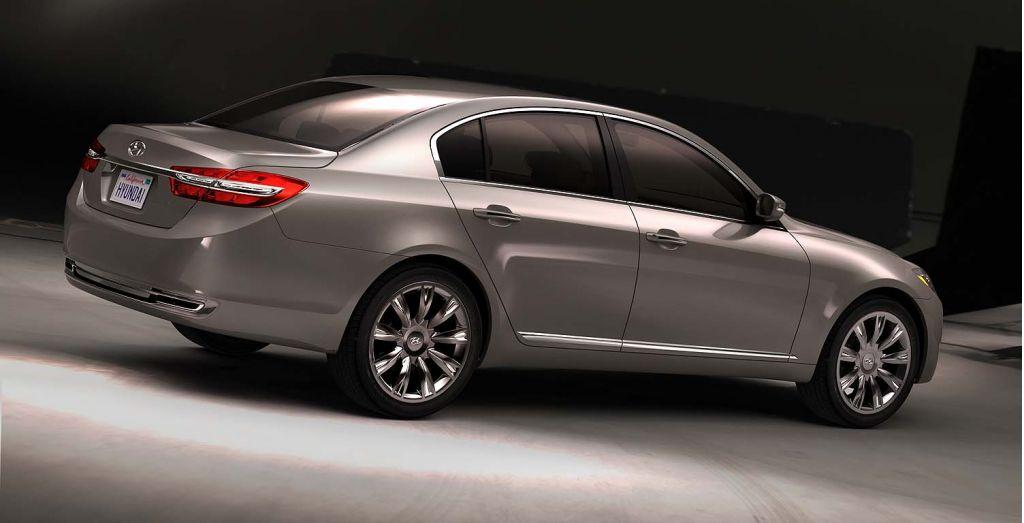 Hyundai Details Concept Genesis