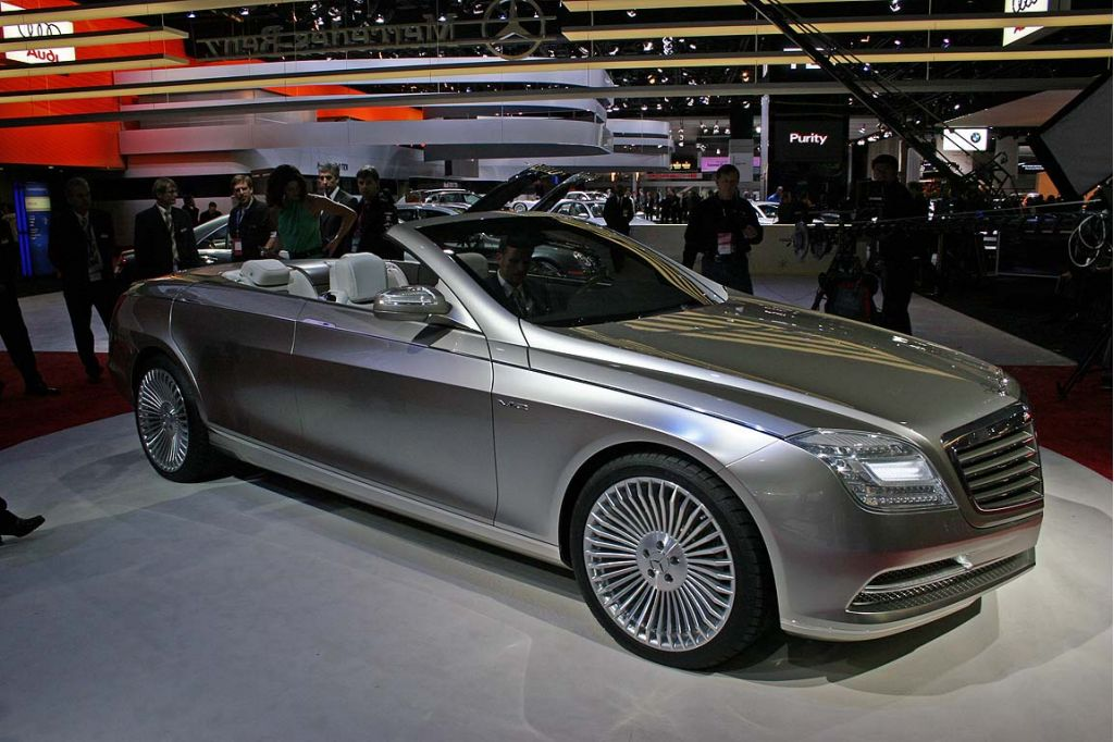 2007 Mercedes-Benz Concept Ocean Drive, Detroit Auto Show