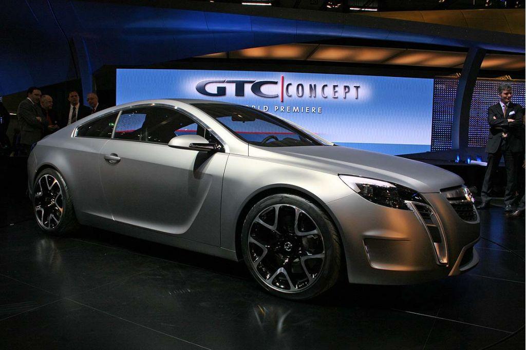Opel Gtc A New Design Era