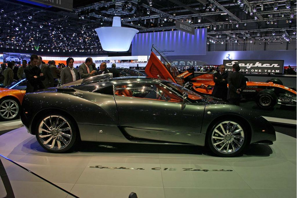New Spyker Outfit Made By Zagato The Car Connection