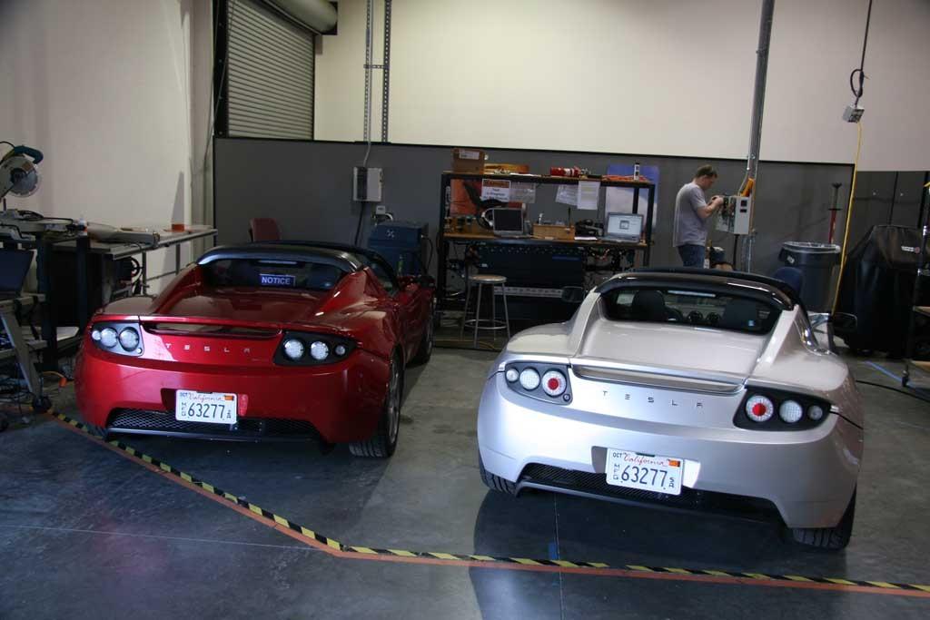 2007 Tesla Roadster Prototype