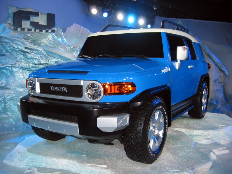 2007 Toyota FJ Cruiser Review, Ratings, Specs, Prices, And Photos   The Car  Connection