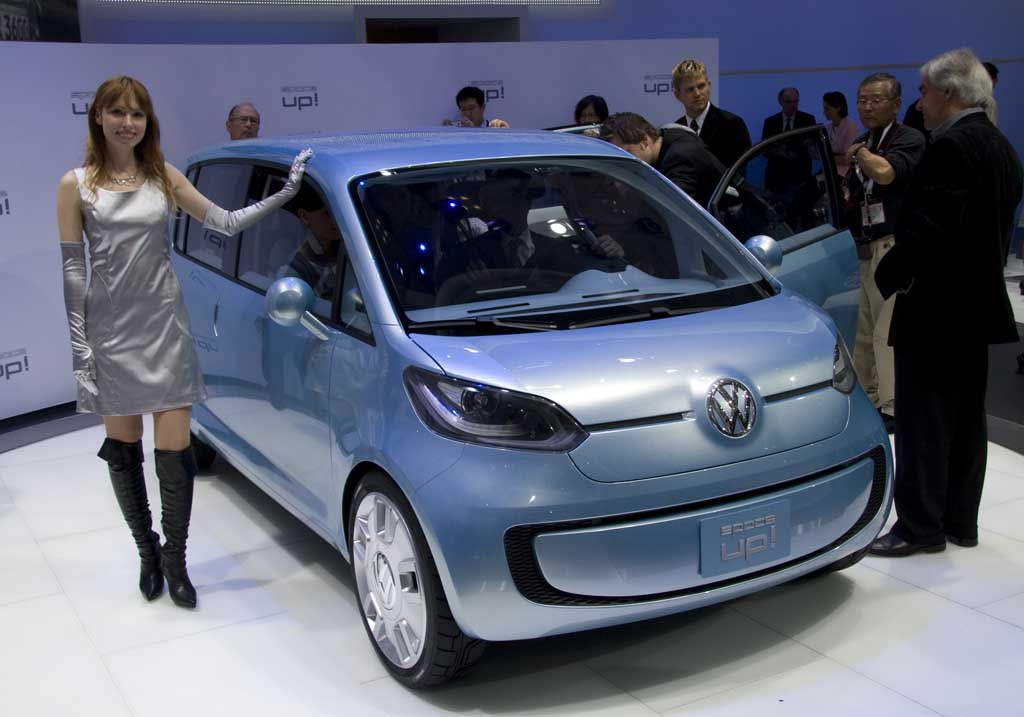 2007 Volkswagen Space Up! Concept