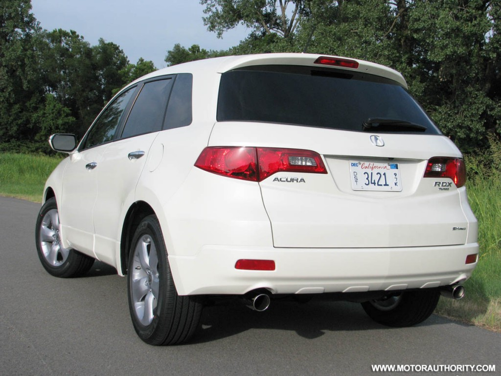 news review automobile first drive acura view side magazine in rdx motion