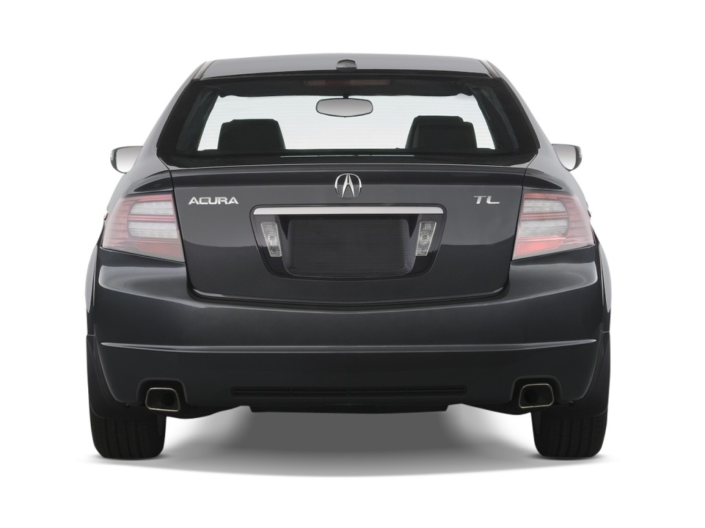 Image 2008 acura tl 4 door sedan auto rear exterior view for Rear exterior door