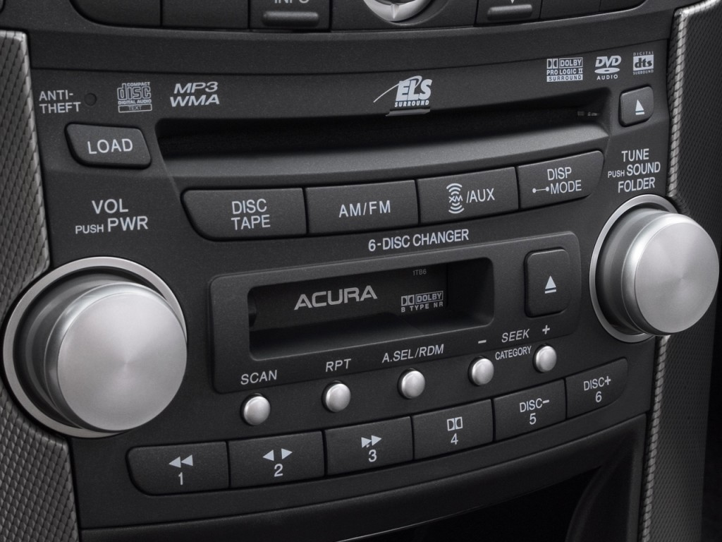 Image: 2008 Acura TL 4-door Sedan Man Type-S Audio System ...