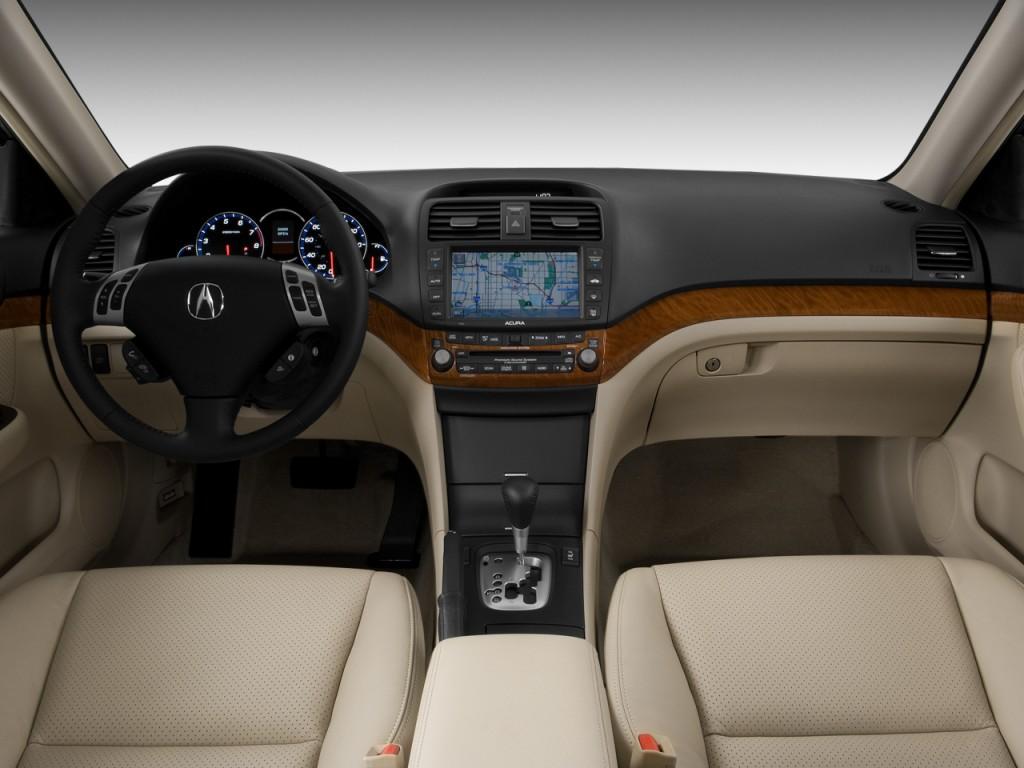 Acura Tsx Door Sedan Auto Dashboard L