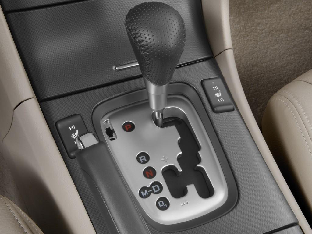 Acura Tsx Door Sedan Auto Gear Shift L