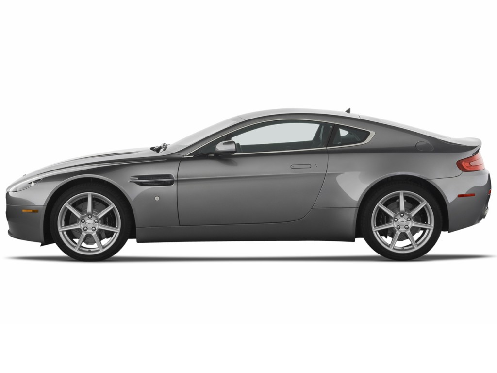 2008 Aston Martin Vantage 2-door Coupe Man Side Exterior View  S