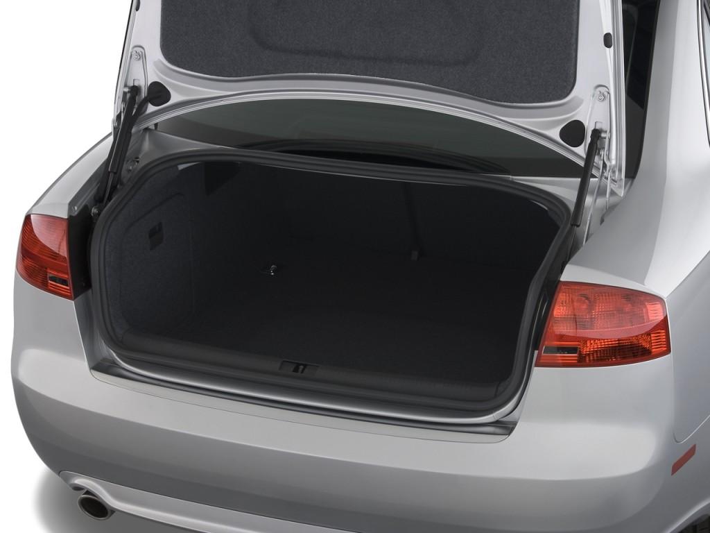 Image 2008 Audi A4 4 Door Sedan Cvt 2 0t Fronttrak Trunk