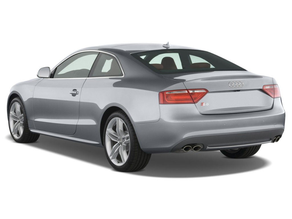 image 2008 audi s5 2 door coupe auto angular rear. Black Bedroom Furniture Sets. Home Design Ideas