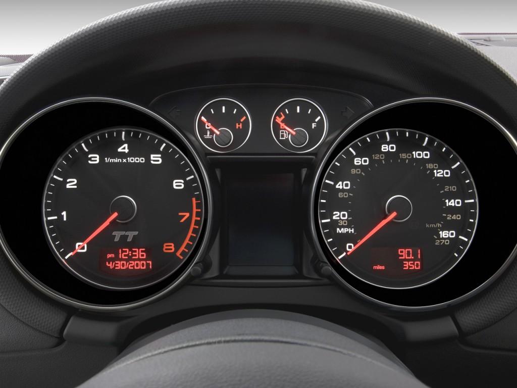 image: 2008 audi tt 2-door roadster auto 2.0t fronttrak instrument