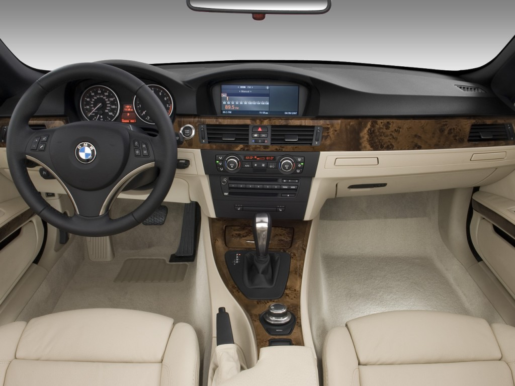Image 2008 Bmw 3 Series 2 Door Convertible 328i Dashboard Size 1024 X 768 Type Gif Posted