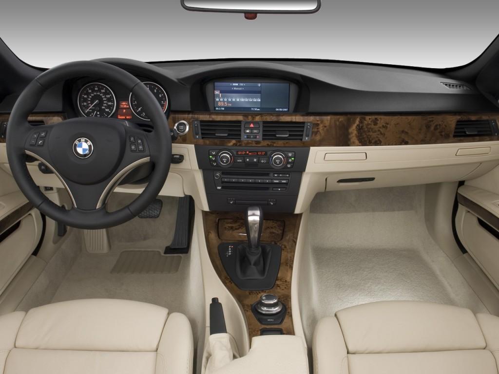 Image: 2008 BMW 3-Series 2-door Convertible 328i Dashboard ...