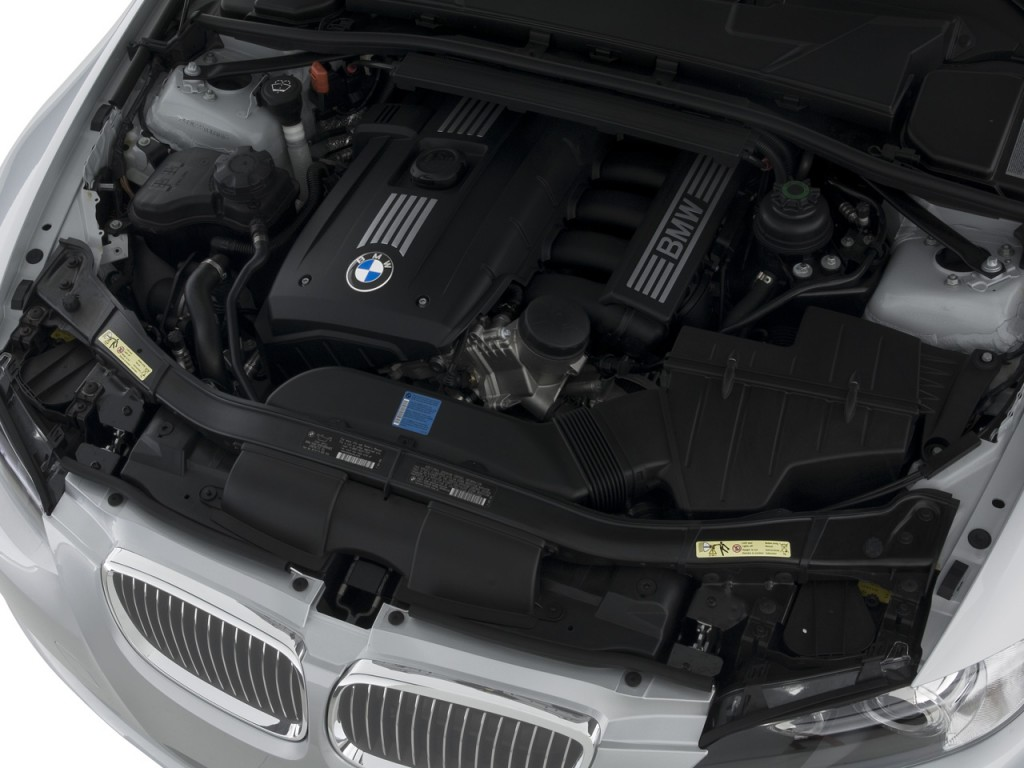 Image: 2008 BMW 3-Series 2-door Convertible 328i Engine ...