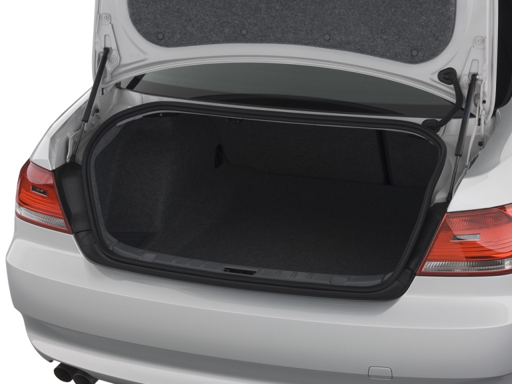Image 2008 Bmw 3 Series 2 Door Coupe 328i Rwd Trunk Size