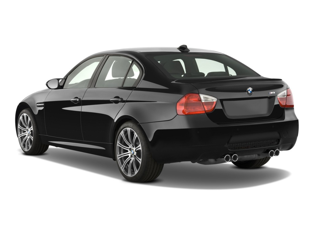 Image 2008 Bmw 3 Series 4 Door Sedan M3 Angular Rear