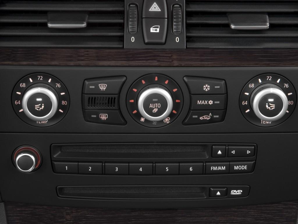 Image 2008 Bmw 5 Series 4 Door Sports Wagon 535xit Awd Temperature Controls Size 1024 X 768