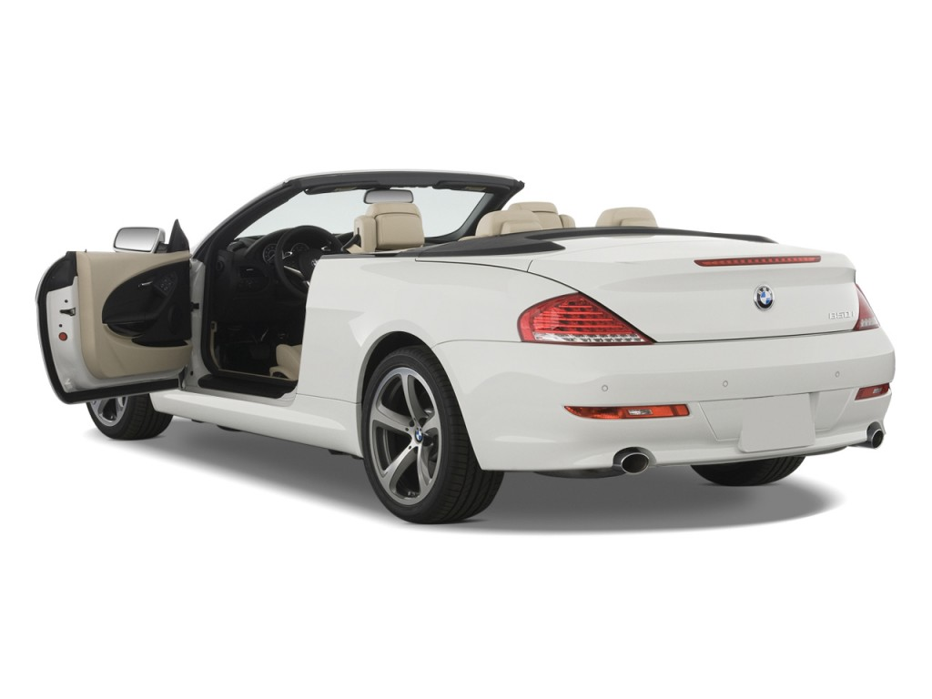 Image 2008 Bmw 6 Series 2 Door Convertible 650i Open