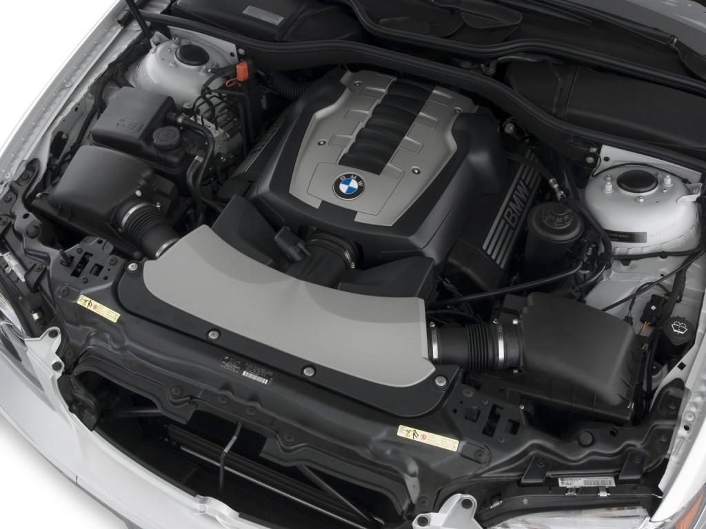 2008 bmw 7 series 4 door sedan 750li engine
