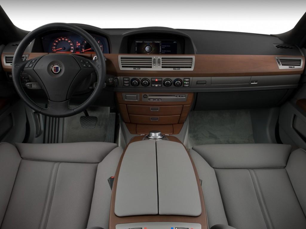 Image: 2008 BMW 7-Series 4-door Sedan ALPINA B7 Dashboard, size ...
