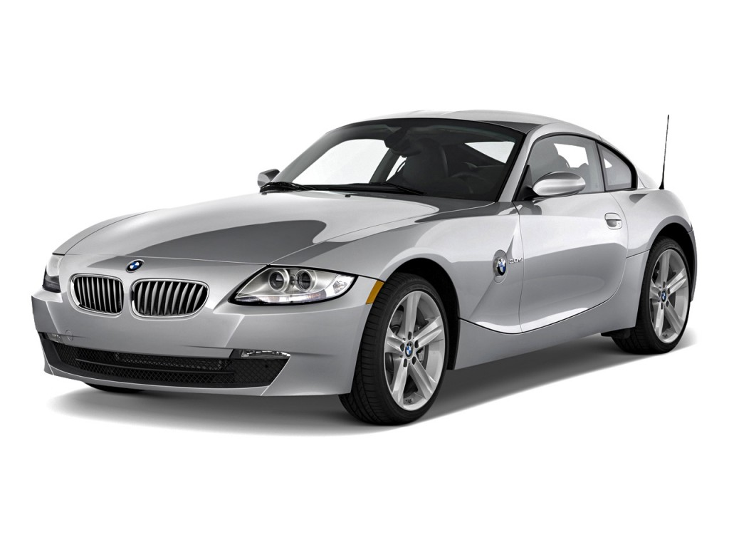 Image 2008 Bmw Z4 Series 2 Door Coupe 3 0si Angular Front