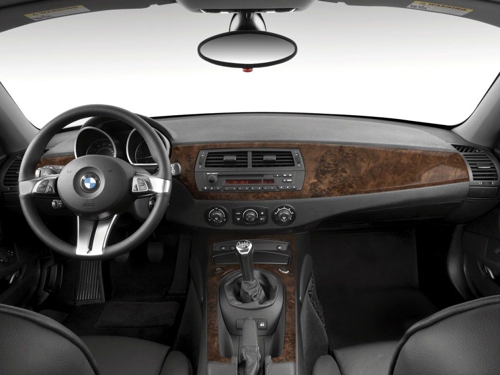 Image 2008 Bmw Z4 Series 2 Door Coupe 3 0si Dashboard