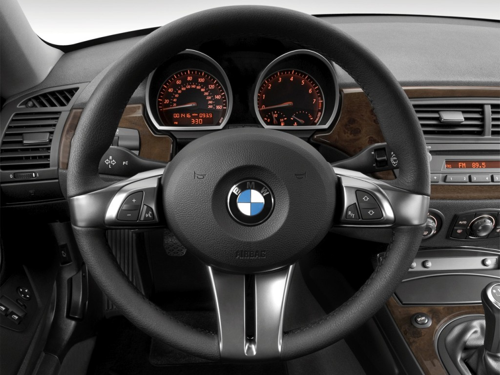 Image 2008 Bmw Z4 Series 2 Door Coupe 3 0si Steering