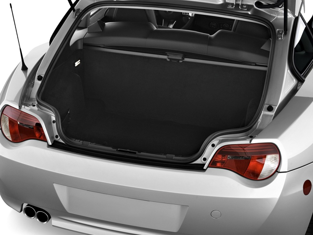 Image 2008 Bmw Z4 Series 2 Door Coupe 3 0si Trunk Size