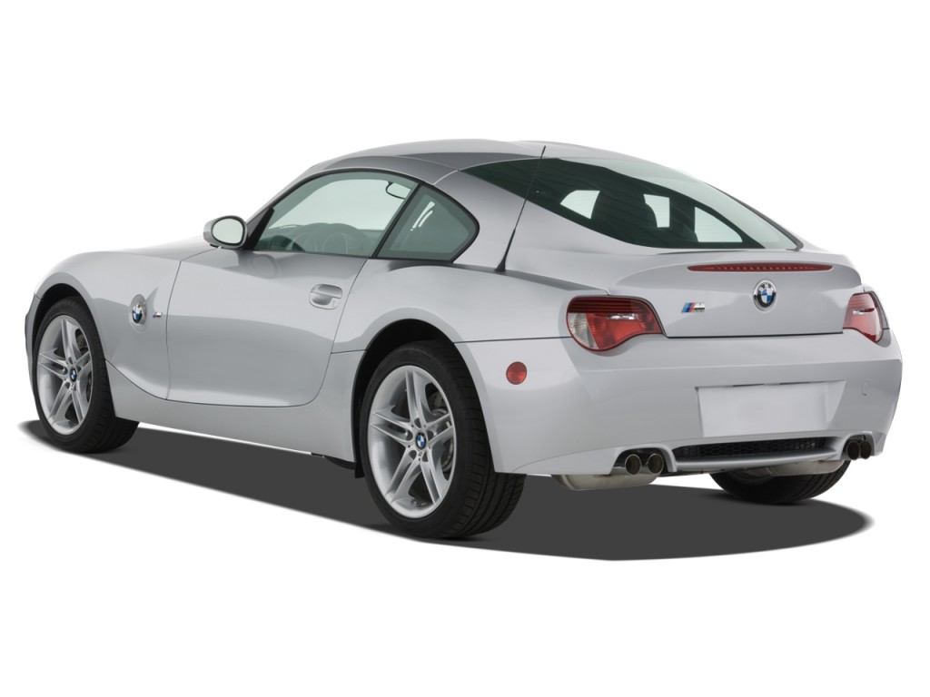 Image 2008 Bmw Z4 Series 2 Door Coupe M Angular Rear