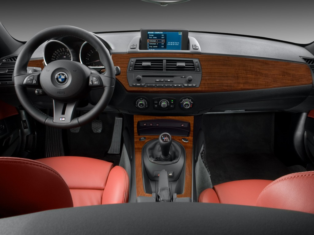 Image 2008 Bmw Z4 Series 2 Door Coupe M Dashboard Size