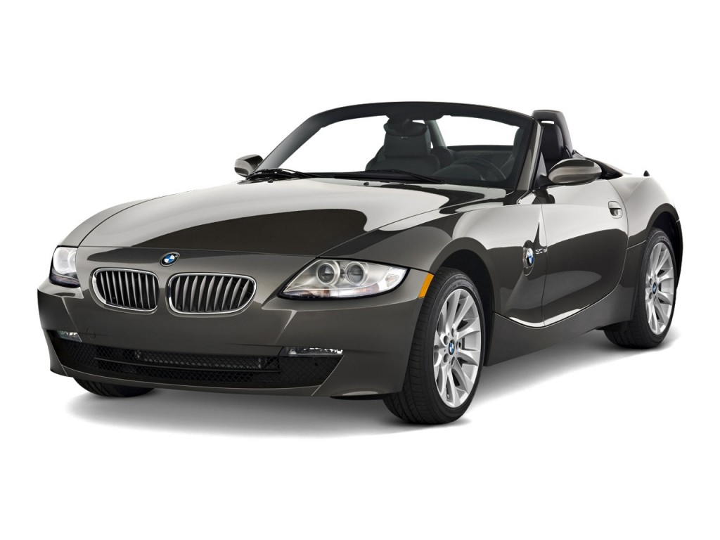 Image 2008 Bmw Z4 Series 2 Door Roadster 3 0si Angular