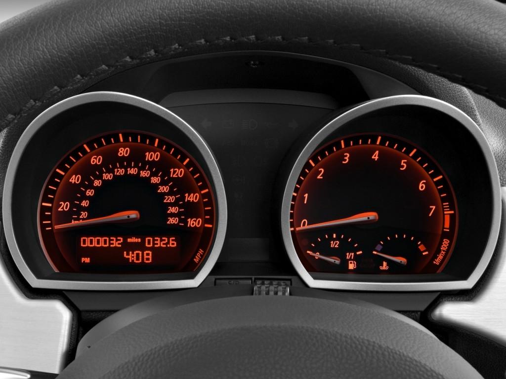Image 2008 Bmw Z4 Series 2 Door Roadster 3 0si Instrument