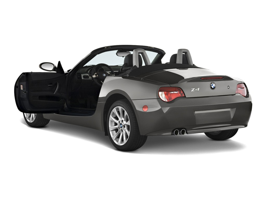 Image 2008 Bmw Z4 Series 2 Door Roadster 3 0si Open Doors