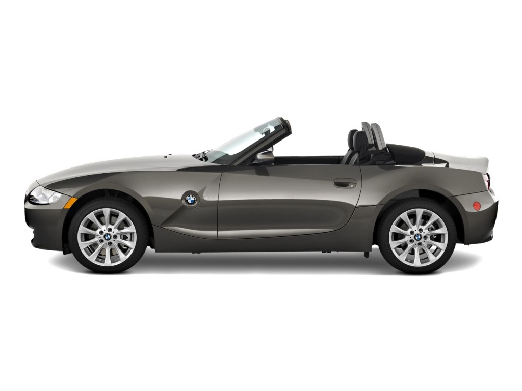 Image 2008 Bmw Z4 Series 2 Door Roadster 3 0si Side