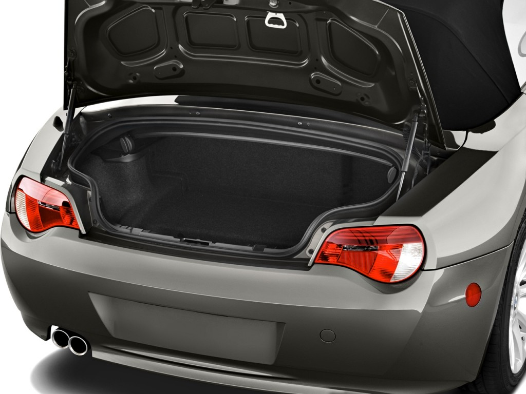 Image 2008 Bmw Z4 Series 2 Door Roadster 3 0si Trunk Size 1024 X 768 Type Gif Posted On