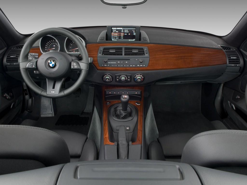 Image 2008 Bmw Z4 Series 2 Door Roadster M Dashboard