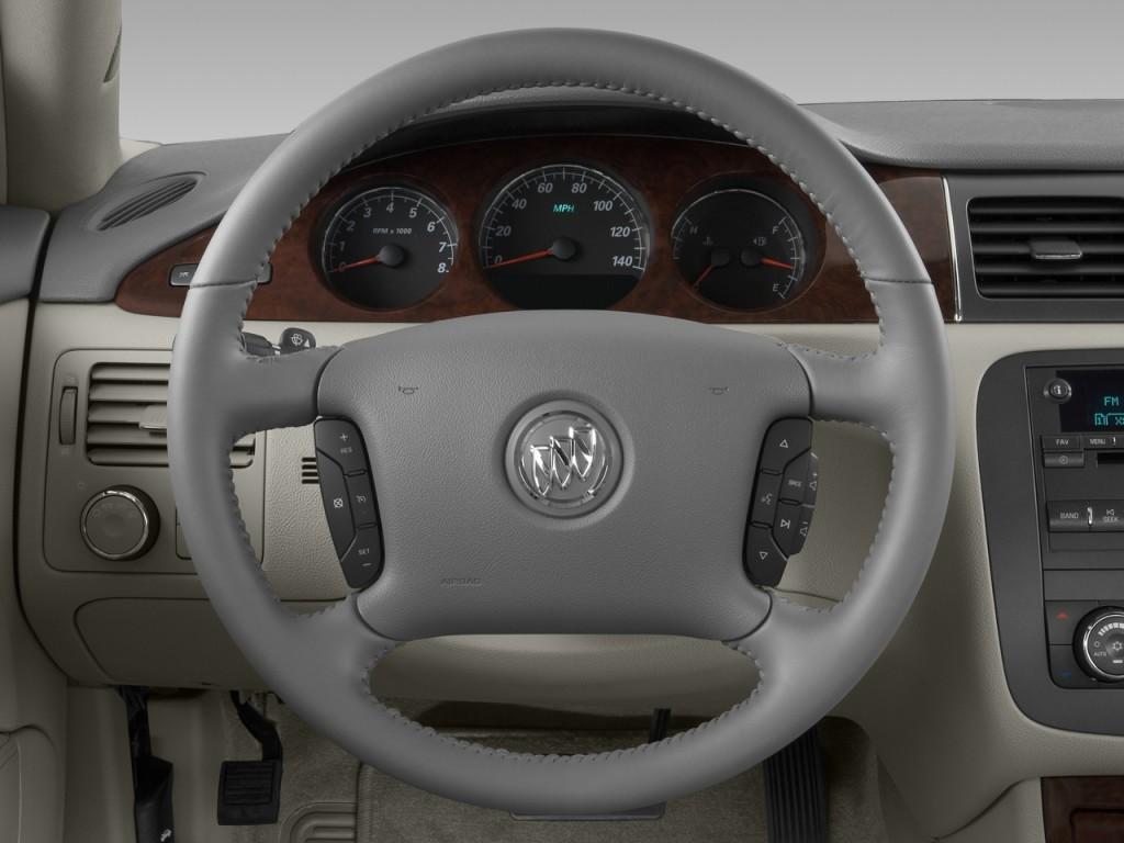 Honda Santa Fe >> Image: 2008 Buick Lucerne 4-door Sedan V6 CXL Steering ...