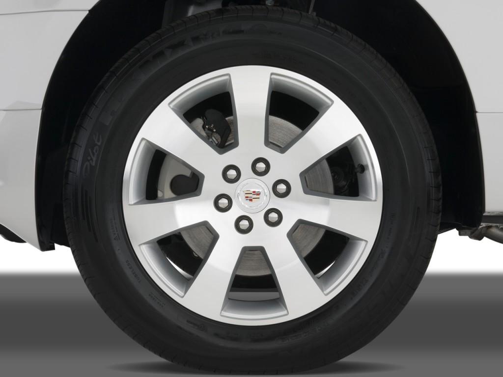 Image: 2008 Cadillac SRX RWD 4-door V6 Wheel Cap, size ...