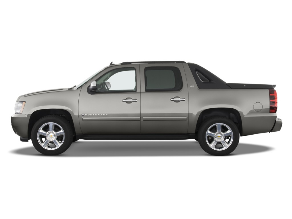 image 2008 chevrolet avalanche 2wd crew cab 130 ltz side. Black Bedroom Furniture Sets. Home Design Ideas