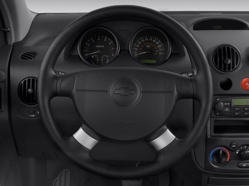 Image 2008 Chevrolet Aveo 5dr Hb Ls Steering Wheel Size 1024 X 768 Type Gif Posted On