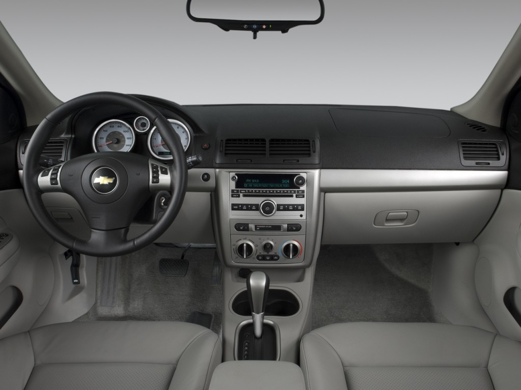 Image: 2008 Chevrolet Cobalt 4-door Sedan Sport Dashboard ...