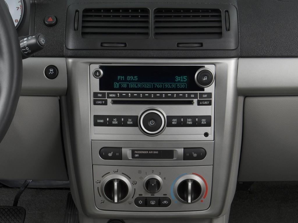 image 2008 chevrolet cobalt 4 door sedan sport instrument. Black Bedroom Furniture Sets. Home Design Ideas