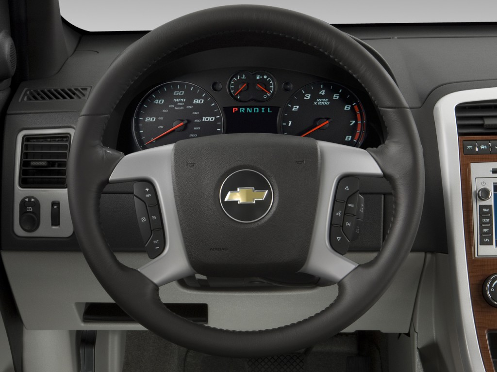 Chevy Trailblazer 2016 >> Image: 2008 Chevrolet Equinox FWD 4-door LT Steering Wheel ...
