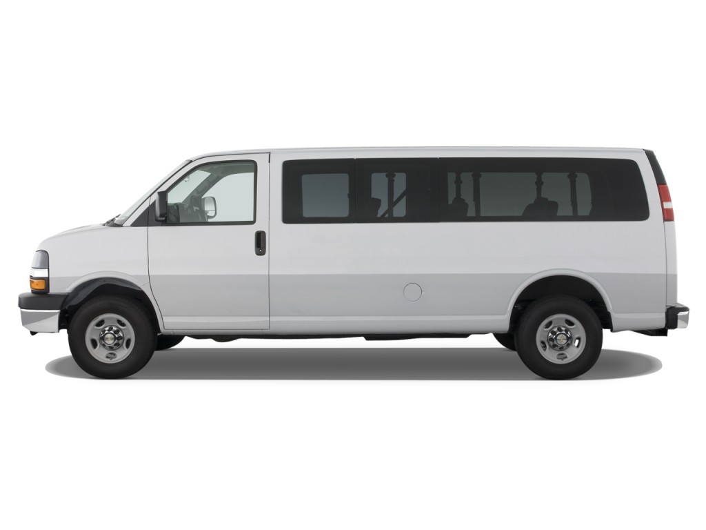 "Used Passenger Vans >> Image: 2008 Chevrolet Express Passenger RWD 3500 155"" Side Exterior View, size: 1024 x 768, type ..."