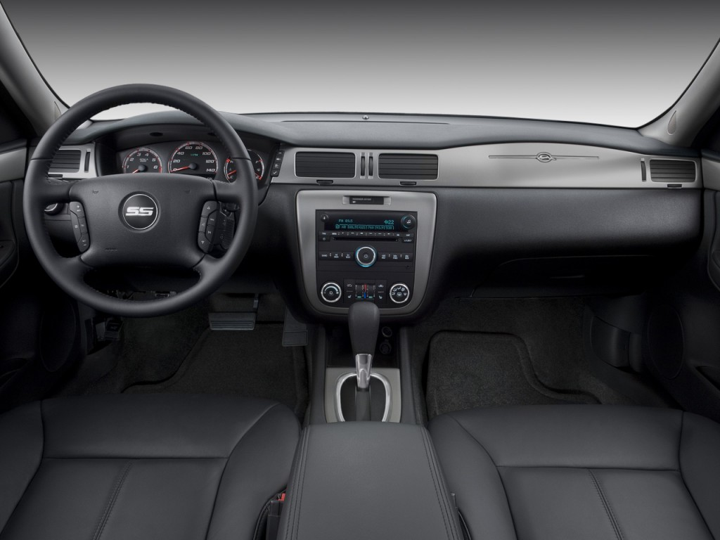 Image: 2008 Chevrolet Impala 4-door Sedan SS Dashboard ...