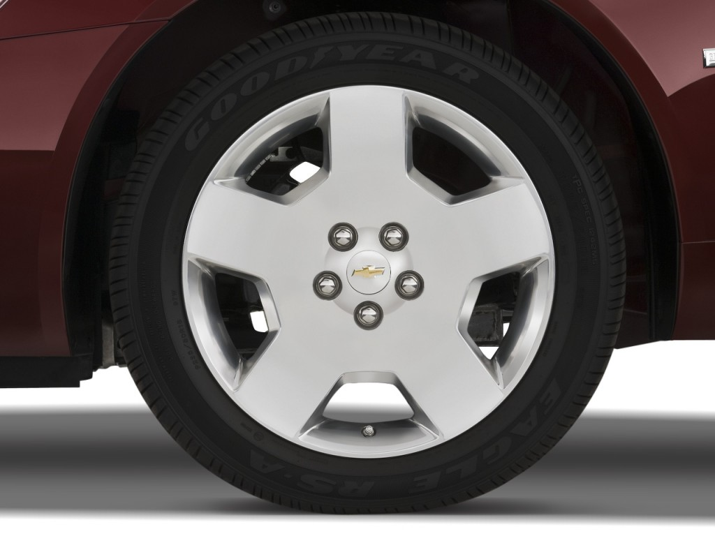 Image: 2008 Chevrolet Impala 4-door Sedan SS Wheel Cap ...