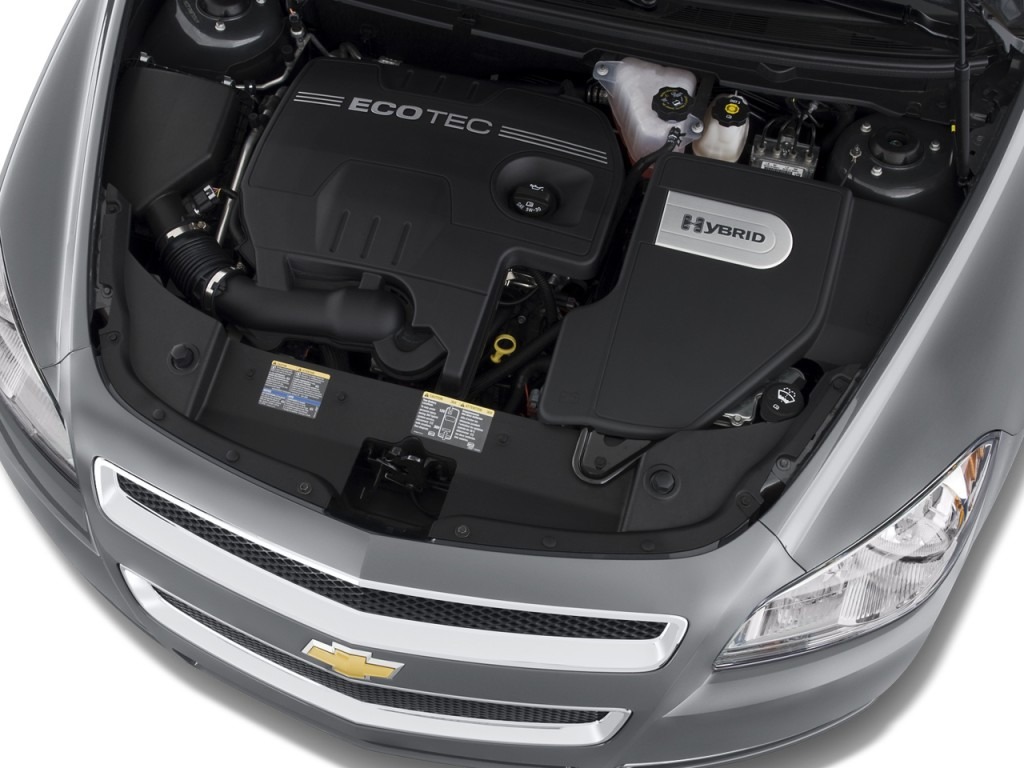 Image: 2008 Chevrolet Malibu 4-door Sedan Hybrid Engine ...