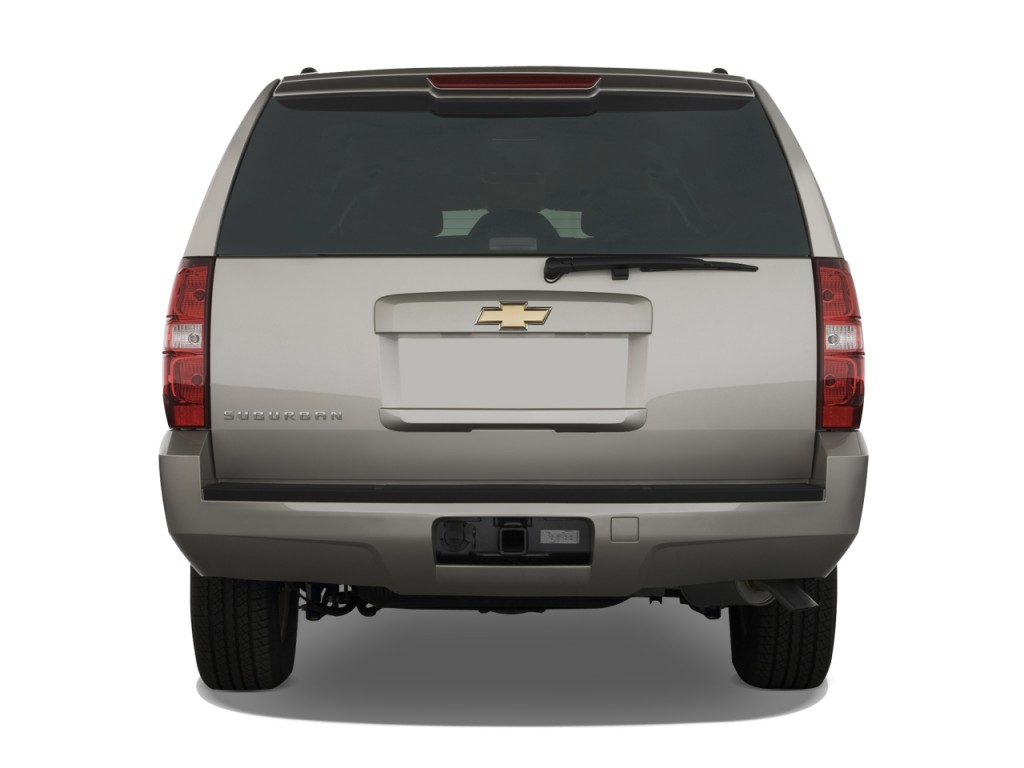Image 2008 Chevrolet Suburban 2wd 4 Door 1500 Ls Rear Exterior View Size 1024 X 768 Type